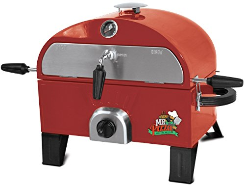 Mr. Pizza GOT1509M Pizza Oven, Red Gas - Pizza Brick Red