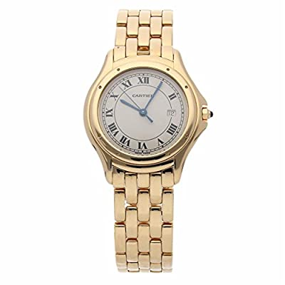 Cartier Cougar Quartz Female Watch W25013B9 (Certified Pre-Owned) by Cartier