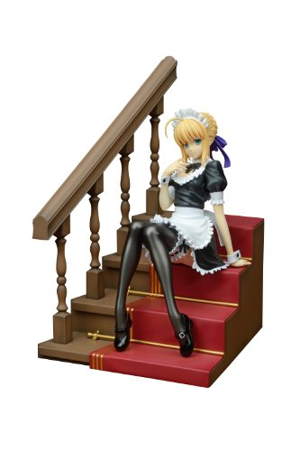 - Plum Fate/hollow ataraxia: Saber PVC Figure (Maid Version) (1:7 Scale)