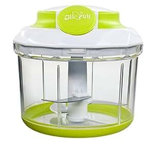 Hand-Powered Food Chopper BliGli Mini Food Chopper, 34 OZ 4 Cups, 1Pack