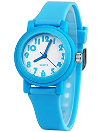 3D Kids Watches Healthy Material Rubber Band Children...