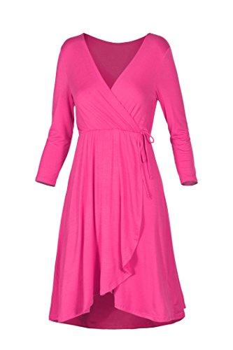 hot pink dress - 3