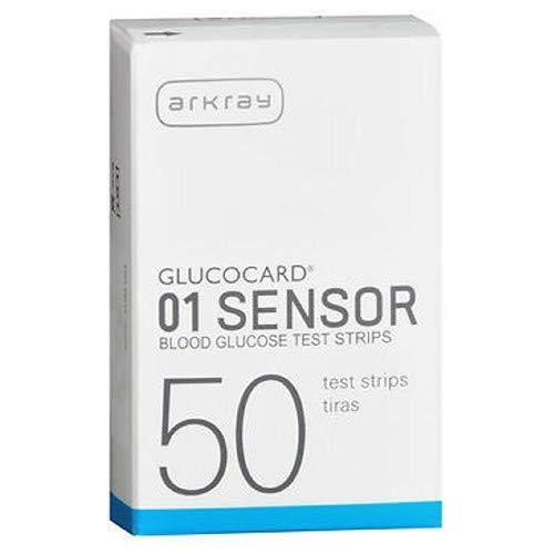 Glucocard Glucocard Sensor Blood Glucose Test Strips, 50 Each (Pack of 2)
