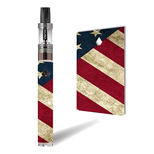 (Vision Spinner 2 Vape E-Cig Mod Box Vinyl DECAL STICKER Skin Wrap / All American Print)