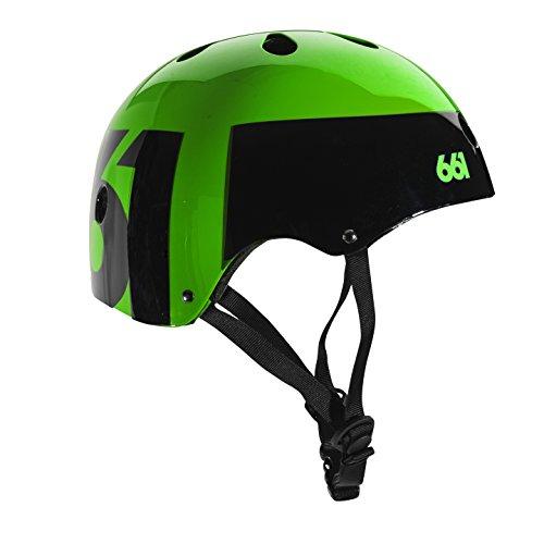 - Six Six One 661 Dirt Lid Helmet One Size (Green/Black)