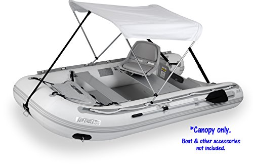 Sun and Rain Canopy for Inflatable Boats by Sea Eagle Boats (Sea Boat Sport Ray)