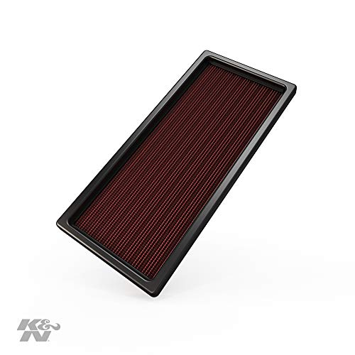 K&N Engine Air Filter: High Performance, Premium, Washable, Replacement Filter: 1987-1997 Ford (F150, F250, F350, F450, F53, Bronco, E-150/250/350 Ecoline, Motorhome), 33-2023
