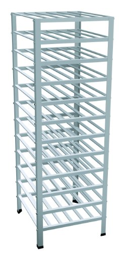 Lockwood Manufacturing AWR-12 Full Height Aluminum Wine Rack, 144 Bottle Capacity by Lockwood Manufacturing