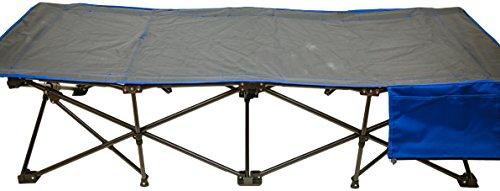 Pearington Sport Self-Enclosing, Fold up, Folding, Portable Indoor/Outdoor Cot, Blue