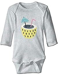 Summer Coconut Baby Bodysuit Long Sleeve Jumpsuit Rompers