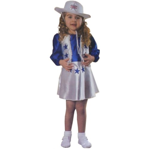 Cowboys Cheerleaders Costume (Halloween Costume Dallas Cheerleader Toddler Girl 2T 4T)