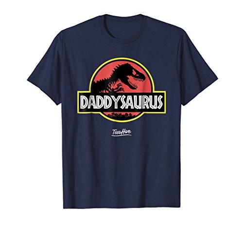 Daddysaurus Funny Daddy Dinosaur Dad Dinosaur Pun T -
