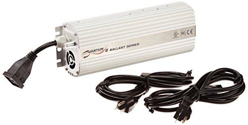 (Hydrofarm Quantum QT600 Dimmable 600W Digital Ballast, 600 W)