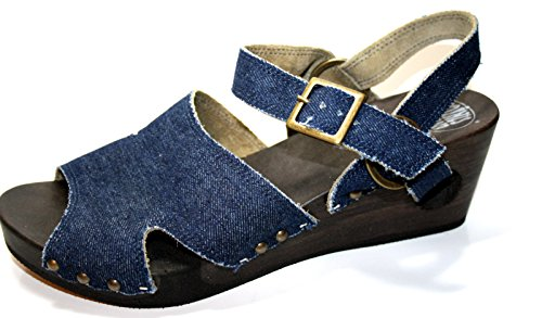 Loints of Holland - Tira de tobillo Mujer Morado - Blau (jeans 191)