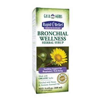 Gaia Herbs – Bronchial Wellness Herbal Syrup 5.4 oz Pack of 2