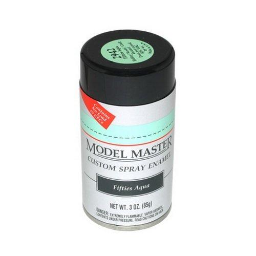 (Model Master Model Master Automotive Enamel Fifties Aqua Spray 1:0 Scale by Model)
