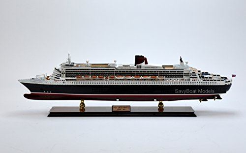 RMS Queen Mary 2 Cunard Line Handmade Ship Model 34