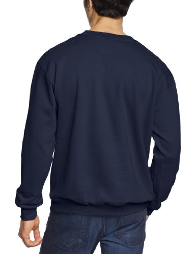 Men's Homme Sweat Sweatshirt navy nav shirt Bleu Crewneck Anvil Blau tRwvqv
