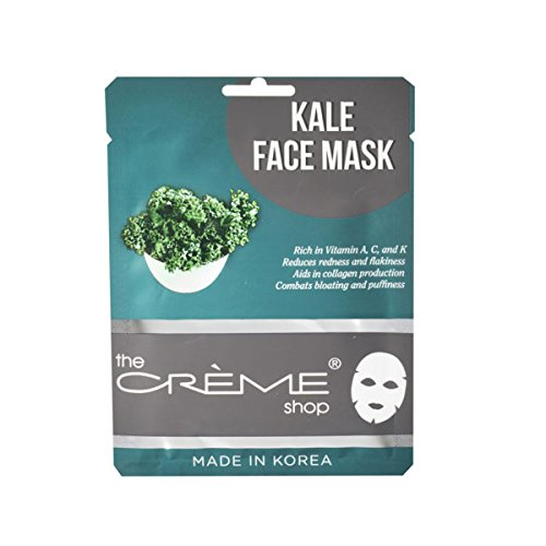 The Creme Shop - Kale Face Mask - 1 Count