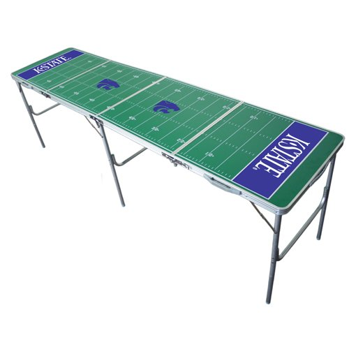 Ncaa Desk Wildcats (Wild Sports Kansas State Wildcats 2x8 Tailgate Table)