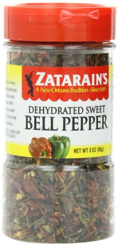 ZATARAIN'S Bell Pepper, 3-Ounce (Pack of 4) by Zatarain's