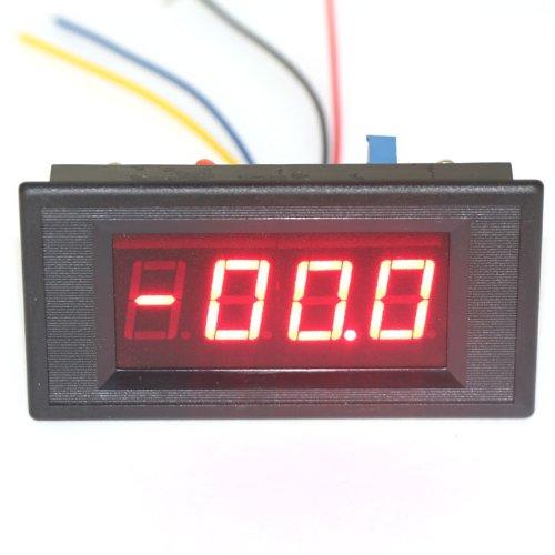 DROK 0-200uA DC Micro Amp Current Meter Digital Ampere Tester Red LED Ampere - Amp Meter Current