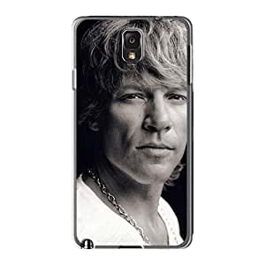 Best Hard Phone Cases For Samsung Galaxy Note3 With Allow Personal Design Beautiful Bon Jovi Series KaraPerron