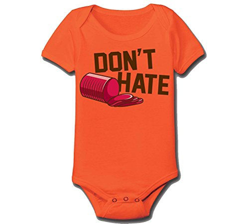 Don't Hate Cranberry Sauce - Baby One Piece - ORANGE - 6 Months