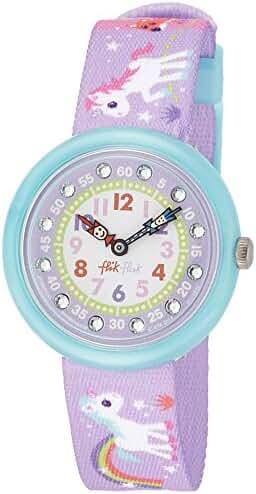 Flik Flak FBNP033 Girls Magical Unicorns Purple Watch