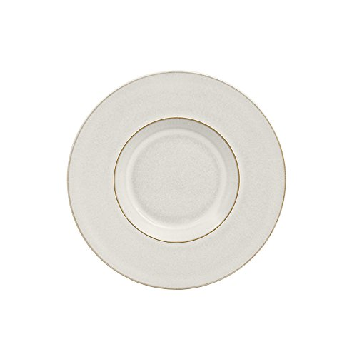- Denby USA Natural Canvas Textured Saucer