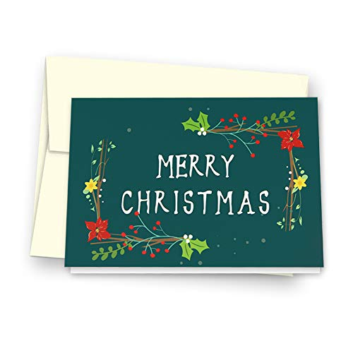 Christmas Cards Greeting Cards, Pop Up Cards, 3D Greeting Card (Green) Photo #7
