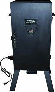 Masterbuilt 30-Inch Black Electric Analog Smoker