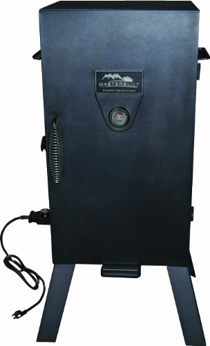 Masterbuilt 20070210 30-Inch Black Electric Analog Smoker by Masterbuilt