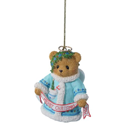 Enesco Cherished Teddies Collection 2012 Dated Merry Christmas Bell