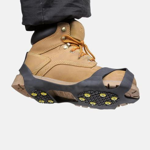Spikes f/ür Schuhe Wandern und Bergsteigen Ice Klampen Schuhspikes Hospaop Schuhspikes Anti Rutsch Schnee Spikes Herren Damen Steigeisen Eiskrallen f/ür Schnee Schuhkrallen EIS