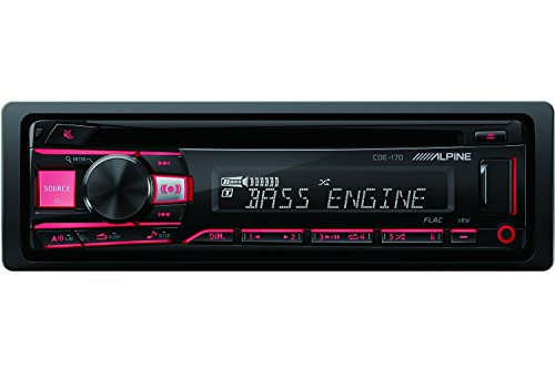 Alpine CDE-170 red