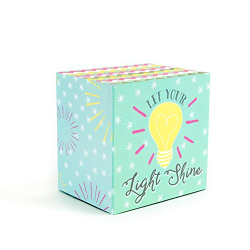 Save Spend Give Piggy Bank - Money Organizer Money Box - Let Your Light Shine by The Piggy Box