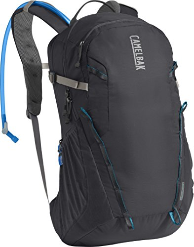 CamelBak Cloud Walker 18 Crux Reservoir Hydration Pack, Charcoal/Grecian Blue, 2.5 L/85 oz ()