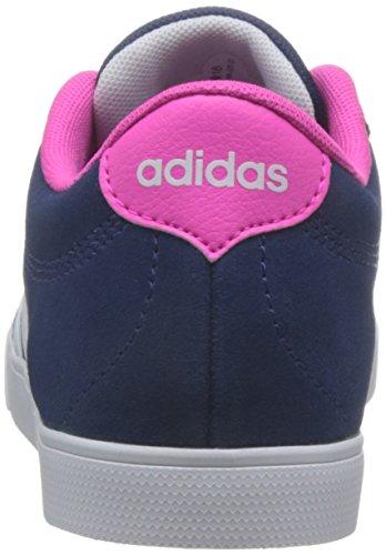 adidas Damen Courtset W Gymnastikschuhe, Mystery Blue FTWR White/Shock Pink