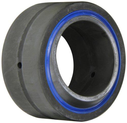 "RBC Bearings B48LSSQ Long Life Sealed Spherical Plain Bearing, 52100 Bearing Quality Steel, Inch, 3"" Bore, 4.75"" OD"