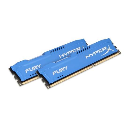 Kingston HyperX FURY 16GB Kit (2x8GB) 1333MHz DDR3 CL9 DIMM - Blue (HX313C9FK2/16) 41mfDFS7SLL. SS555
