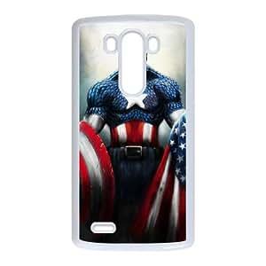 Captain Americ LG G3 Cell Phone Case White present pp001_9607670