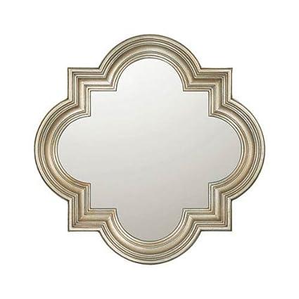 amazon com capital lighting m282848 decorative mirror winter gold