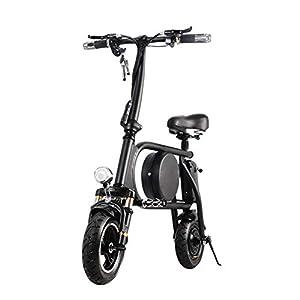 41mfDyl1FmL. SS300 H&BB Intelligente Bici Elettrica,Pieghevole E Portatile Elettrica Scooter Bicicletta con Illuminazione A LED Pedale di…