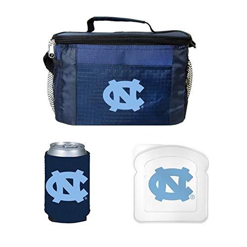 NCAA North Carolina Lunch Cooler Set | North Carolina Tar He