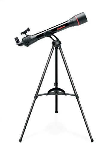 TASCO Spacestation 70x800mm Refractor AZ with Variable LED Red Dot Finderscope Telescope ()