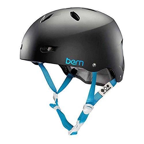 (Bern 2016 Women's Brighton EPS Summer Bicycle/Skate Helmet (Matte Black, XS/S))