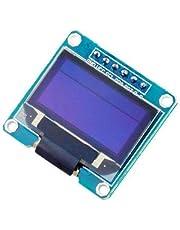 LCD OLED LED 128X64 الأبيض 12C لجنة التحقيق المستقلة SPI المسلسل عرض وحدة لاردوينو