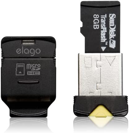 Amazon.com: elago Mobile Nano II USB 2.0 tarjeta de memoria ...