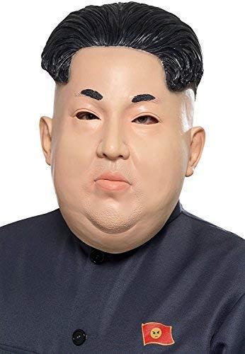 The Dictator Costumes For Sale - Mens Korean Dictator Mask International Leader